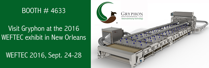 Gryphon to display at WEFTEC 2016, Booth # 4633